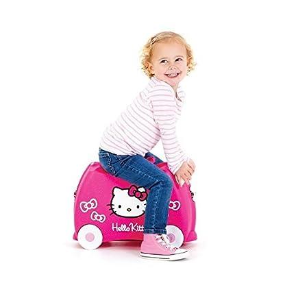 TRUNKI Ride-on – Valise a roulettes pour enfants – Hello Kitty