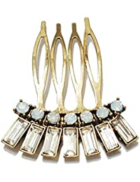 Young & Forever Elite Bling Bling Princess Hair Comb Hair Clips Bobby Pins for Women Girls HA181