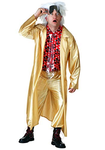 Future Back Kostüm To - Back to The The Future 2015 Doc Brown Fancy Dress Costume Small