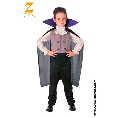 Imagen de disfraz infantil  dracula vip 5 7 años alternativa