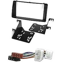 # 6202/1172# + Cable adaptador de juego de instalación de radio (doble DIN) para Toyota Corolla E12