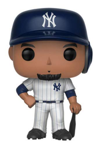 Funko-Major League Baseball Figure Giancarlo Stanton Statue Sammelbar New York Toy Fair, 9cm, 30242