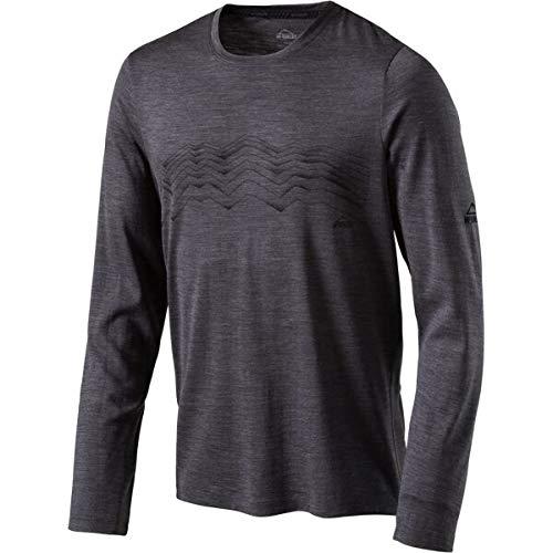 McKINLEY H-T-Shirt Kara SCHWARZ/GRÜN Lime - L