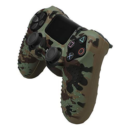 PS4 Controller DualShock 4 Wireless Controller mit USB-Kabel für Sony Playstation 4, Grün/Camouflage grün camo -