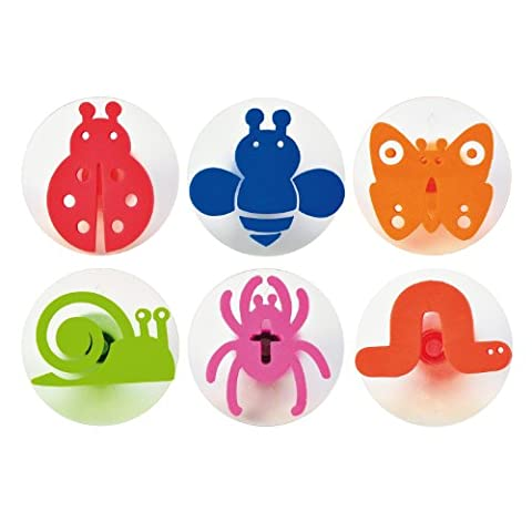 Eduplay 220111 Insects Stamps (6-Piece)