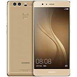 """Huawei P9 4G 32GB Gold - smartphones (13.2 cm (5.2""""), 32 GB, 12 MP, Android, 6.0, Gold)"""