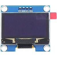 "YUIO® 1PCS 4PIN 1.3""Módulo OLED Color Blanco/Azul 128X64 1.3 Pulgadas Módulo de Pantalla LED OLED LCD 1.3"" IIC I2C Communicate (Azul)"