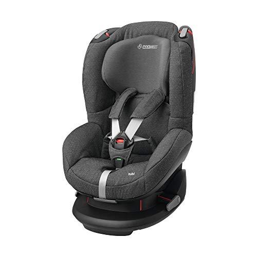 Maxi-Cosi Tobi Kinderautositz mit fünf komfortablen Sitz und Liegepositionen, Gruppe 1 Autositz, Nutzbar ab 9 Monate bis 4 Jahre, sparkling grey (grau) 9-18 kg