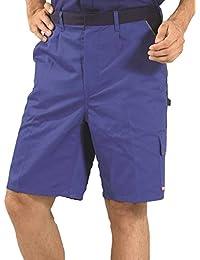 2372 Planam Shorts Highline schiefer/schwarz/rot, Größentabelle s. Produktbeschreibung