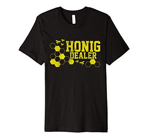 Herren Imker T-Shirt - Honig Dealer Bienen Imkerei Shirt Geschenk -