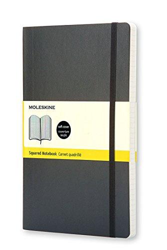 Moleskine Klassisches Notizbuch Large, Softcover, kariert, schwarz