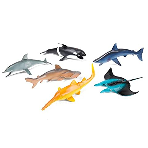 Sea Creature Toy Animal Figures Large Sized