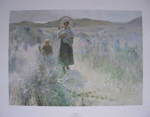 Unbekannt Mutterschaft von George Hitchcock 1850-1913 73cms x 57cms