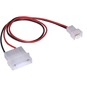 InLine 0.3m 12V to 7V Fan Adapter Cable