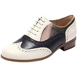 Clarks Hamble Oak 203467134 - Zapatos de cuero para mujer