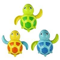 Amison 1 PC New Born Babies Swim Turtle Wound-up Chain Small Animal Bath Toy