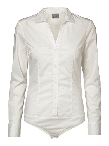 VERO MODA Damen Bluse Vmlady L/S G-String Shirt Noos