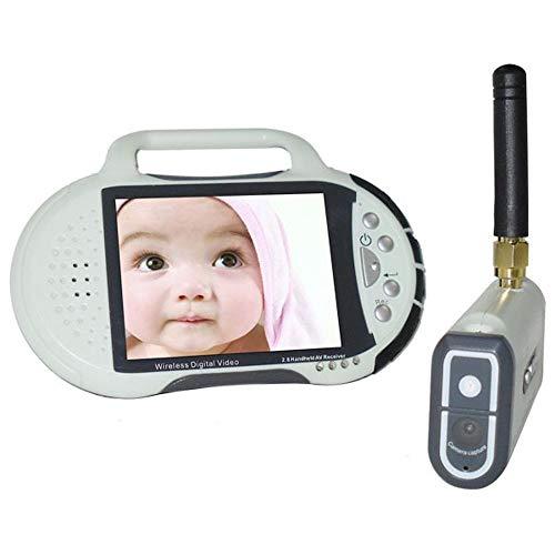 Relddd Babyphone 2.4 G 2,8 Zoll Wireless Baby Monitor Digital Mini Überwachung Kamera DVR Karte Video Dvr-karte