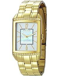 Pierre Cardin Celebrite Dame - Reloj analógico de cuarzo para mujer, correa de acero inoxidable, color dorado/madreperla/dorado