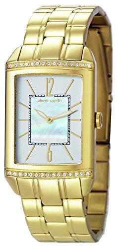 Pierre Cardin Damen-Armbanduhr Celebrite Dame Analog Quarz Edelstahl