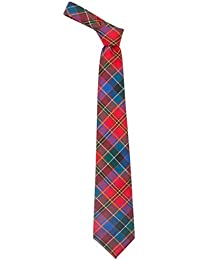 100% Reiver Hay and Leith Modern Tartan Tie & Gift Wrap - Made in Scotland by Lochcarron