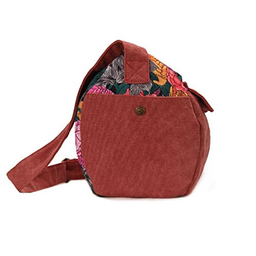 Chang Spent borsa da viaggio in tela di cotone moda casual borsa Messenger marea Le nuove donne , a a