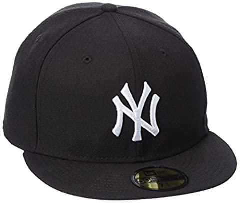 NEW ERA Cap MLB Basic Neyyan black white (7 1/8) , 7 1/8