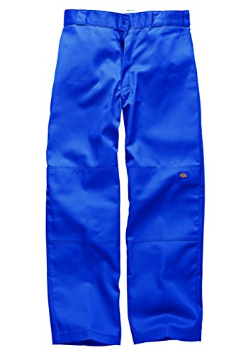 Dickies Herren Sporthose Streetwear Male Pants Double-Knee Work Royal Blue