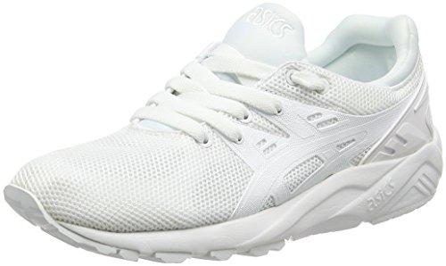 Asics Gel-Kayano Trainer Evo, Unisex Erwachsene Laufschuhe, Weiß (Weiß/Weiß), 44 EU (9 UK)