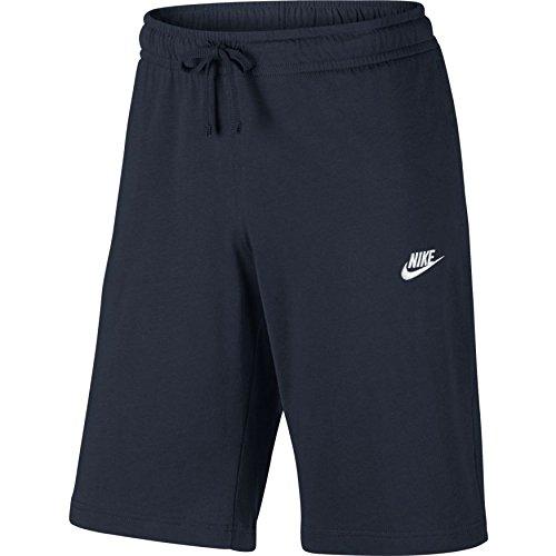 Nike M Nsw Jsy Club Pantalón Corto, Hombre, Azul (Squadron Blue / White), M
