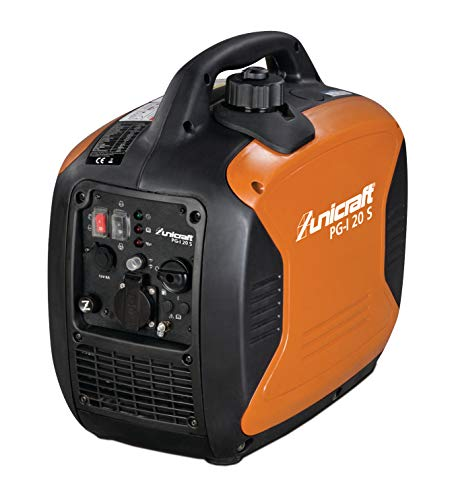Stürmer Unicraft 6706200 Inverter-Stromerzeuger PG-I 20 S (Laufzeit bis zu 6,8 Stunden, Überlastschutz, für Heim, Camping usw.)
