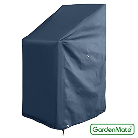 GardenMate® Housse protectrice pour fauteuils de jardin en tissu Oxford 65 x 65 x 80/120 cm