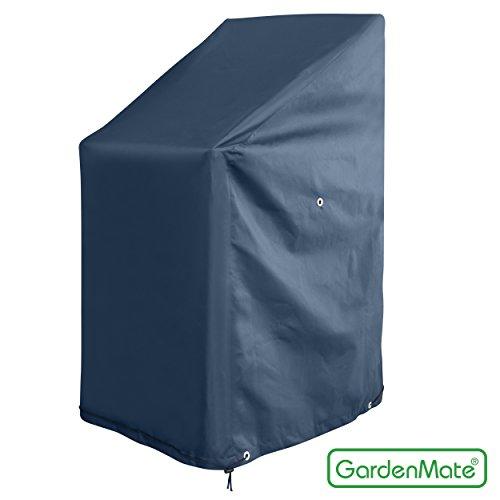GardenMate OXFORD Polyester Schutzhülle für Gartenstühle 65 x 65 x 80/120 cm - Premium Qualität...