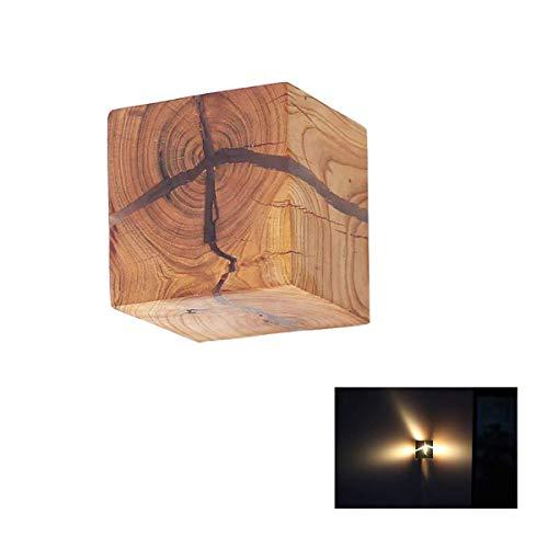 PoJu Holz Riss Split Holz Wandlampen Kreative Ursprüngliche Massivholz Led Lampe Nachttore Dekorative Lichter Kleine Nachtlicht Kommerziellen Holz Wandleuchte -