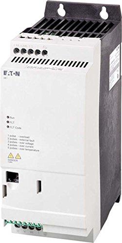 Eaton 174337 Drehzahlstarter, Dreiphasiger Netzanschluss, Dreiphasiger Motoranschluss bei 400 V, 6, A und 3 kW/ 3 HP, mit integriertem emv-Filter