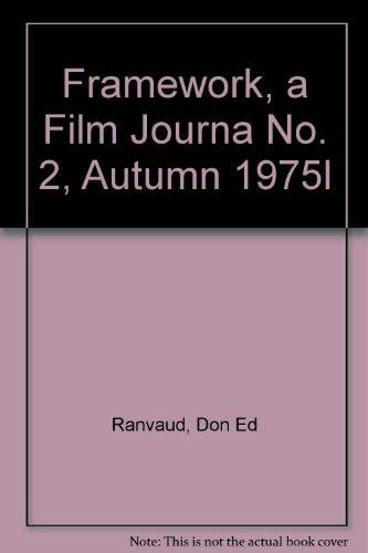 Framework, a Film Journa No. 2, Autumn 1975l