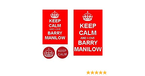 Barry Manilow Key Ring /& Fridge Magnet Set
