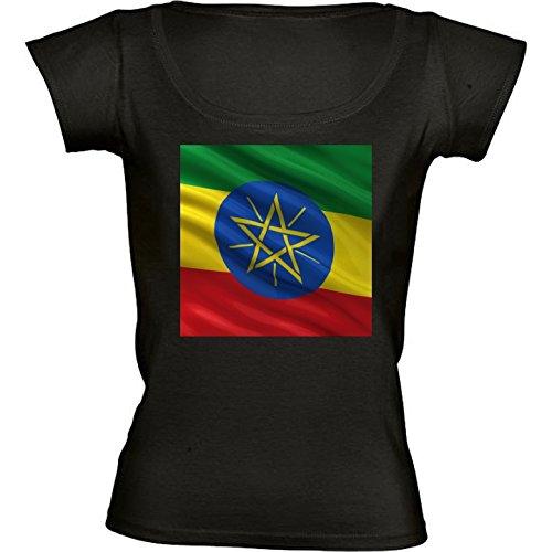 camiseta-negro-con-cuello-redondo-para-mujeres-tamao-m-bandera-de-etiopa-by-carsten-reisinger