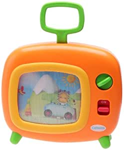Smoby Jeu Electronique 1er Age - Cotoons - Musical TV - Orange