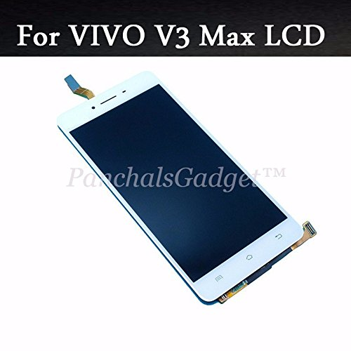 PanchalsGadget Lcd/Display/Touch Screen Digitizer For vivo V3 Max White