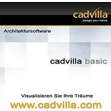 cadvilla basic - Architektur 2D/3D Hausplaner Software / Programm