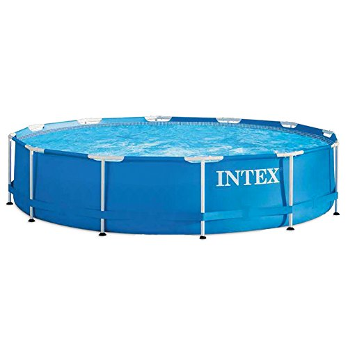 Intex 56994 - Metal Frame piscina desmontable de 6.503 litros, 366 x 76 cm