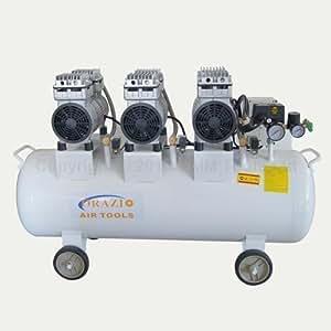 Compresseur à air type silencieux 220V 90L faible bruit pour garage atelier clinique 241189