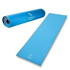 The Friendly Swede Fitnessmatte - Gymnastikmatte Trainingsmatte Pilatesmatte Yogamatte (Blau)