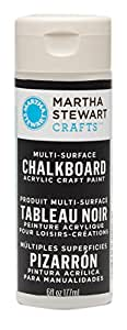 Martha Stewart Chalkboard Paint 6oz-Black