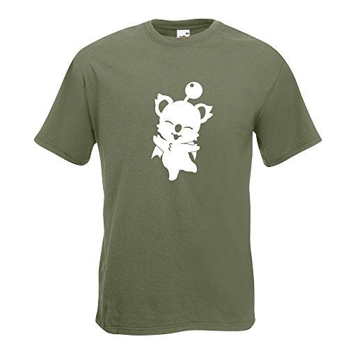 KIWISTAR - Kupo - Mog - Nuts T-Shirt in 15 verschiedenen Farben - Herren Funshirt bedruckt Design Sprüche Spruch Motive Oberteil Baumwolle Print Größe S M L XL XXL Olive