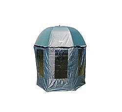 Schirmzelt BAT-Tackle/PVC Nubrolly Schirm /Überwurf 250 Oliv