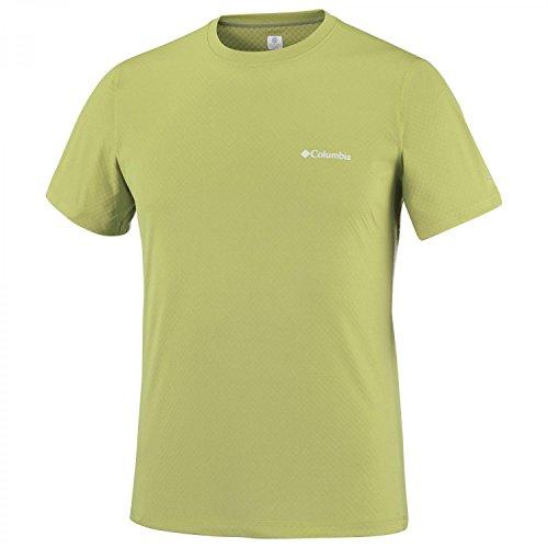 Columbia Herren Zero Rules Short Sleeve T-Shirt, Schwarz Voltage