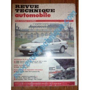 Descargar Libro RTA0560 - REVUE TECHNIQUE AUTOMOBILE FORD MONDEO 4 Cylindres Essence de ETAI