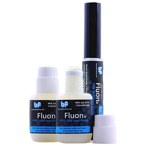 Fluon Plus PTFE Fluchtschutzbeschichtung für Kletterinsekten, Ameisen Insekten Ausbruchsschutz Lack rutschig (3 stkc.) -